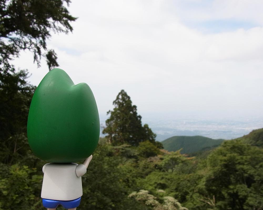 """サナダくんが頭に被っている""""金剛山""""に登ってみた"""